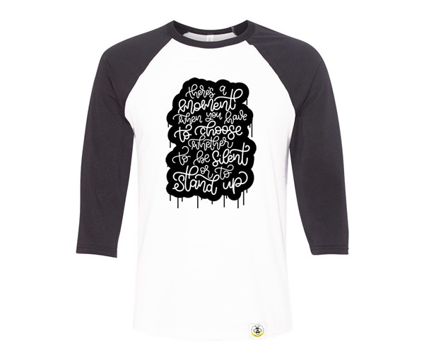 Stand Up Adult Raglan