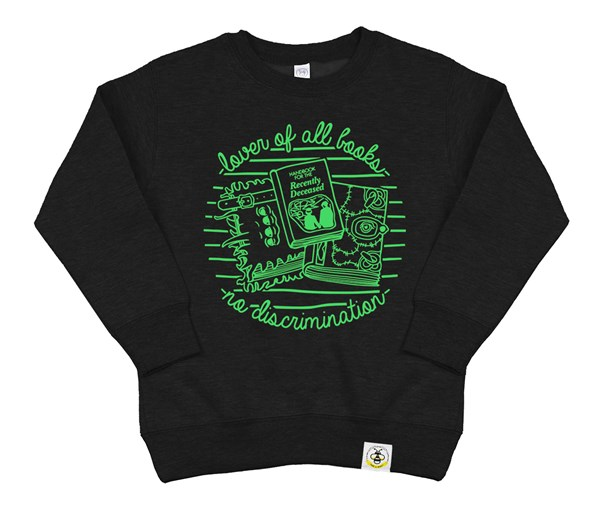 Book Lover (Kids Sweatshirt)