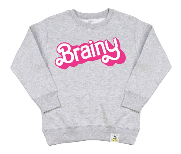 Brainy Kids Sweatshirt (Grey)