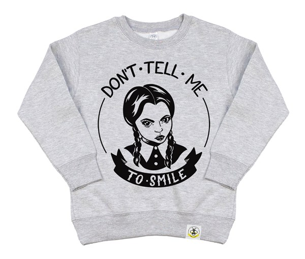 Don't Tell Me Kids Sweatshirt (Grey)