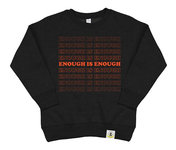 Enough Kids Sweatshirt (Black)