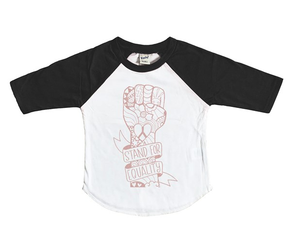 Equality Fist (Kids Raglan)