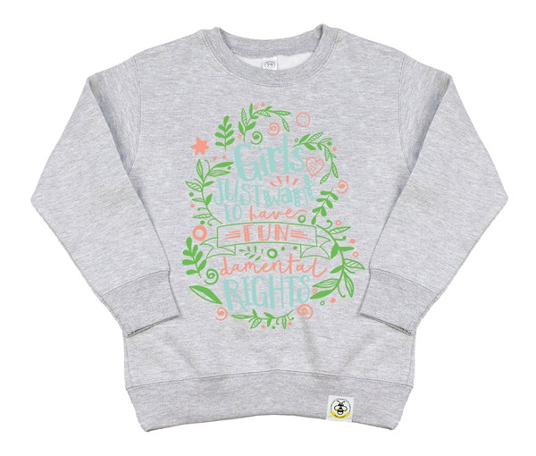 Fundamental Rights Kids Sweatshirt (Grey)