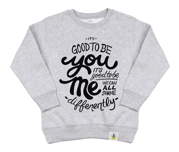 Good to Be Kids Sweatshirt (Grey)