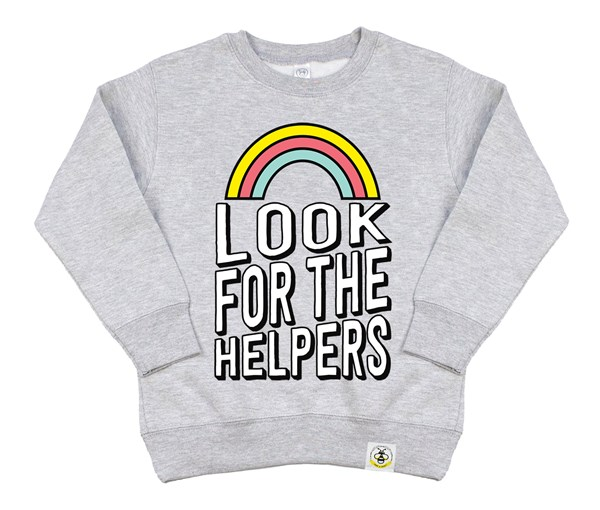 Look for the Helpers (Kids Sweatshirt)