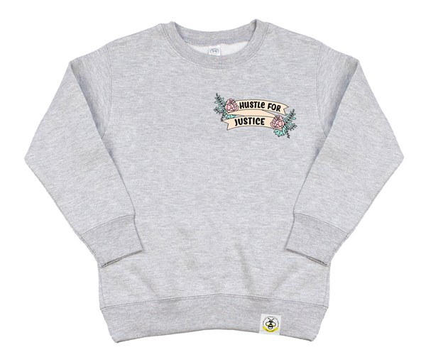 Hustle for Justice (Kids Sweatshirt)