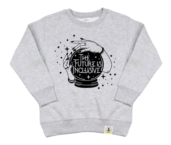 Inclusive Kids Sweatshirt (Grey)