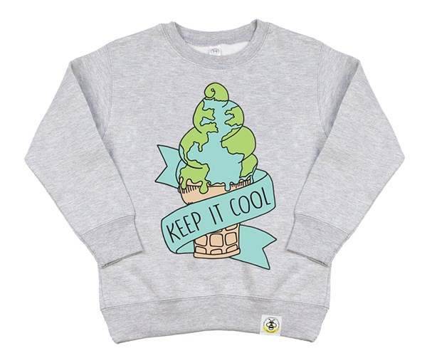 Keep it Cool Kids Sweatshirt (Grey)