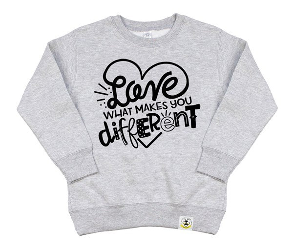 Different Kids Sweatshirt (Grey)