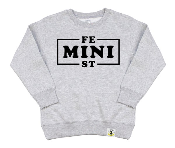 Mini Feminist (Kids Sweatshirt)