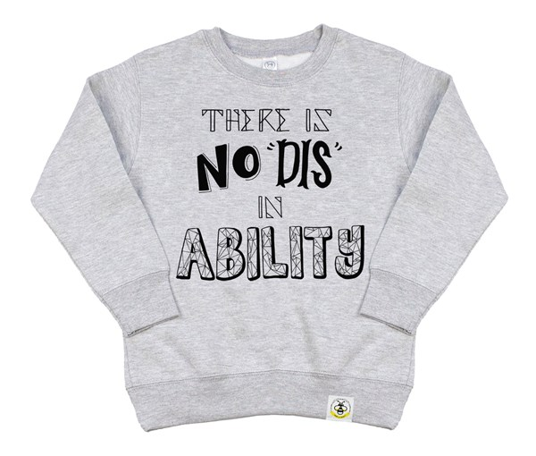 No Dis Kids Sweatshirt (Grey)
