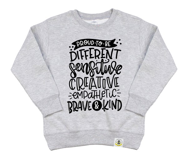 Proud to Be Kids Sweatshirt (Grey)
