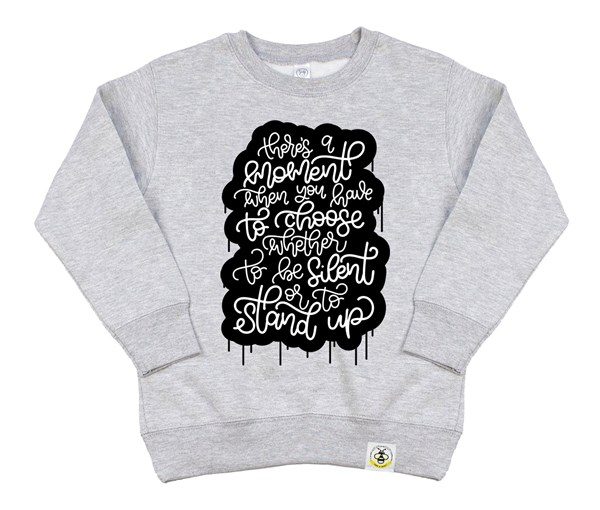 Stand Up Kids Sweatshirt (Grey)