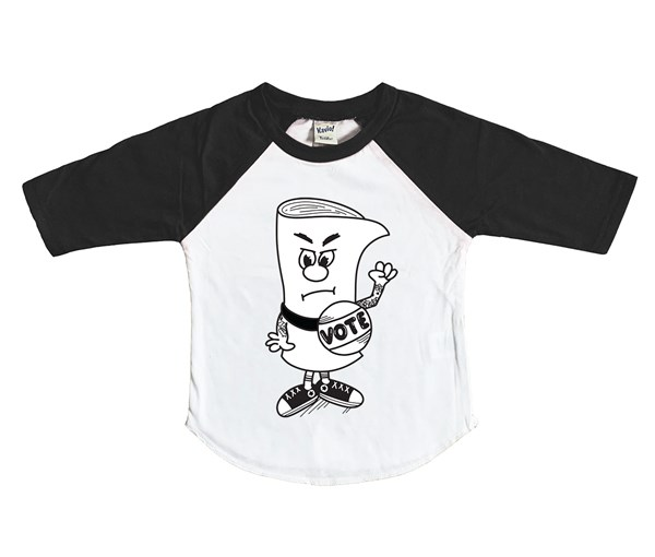 Vote (Kids Raglan)