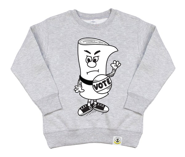 Vote Kids Sweatshirt (Grey)