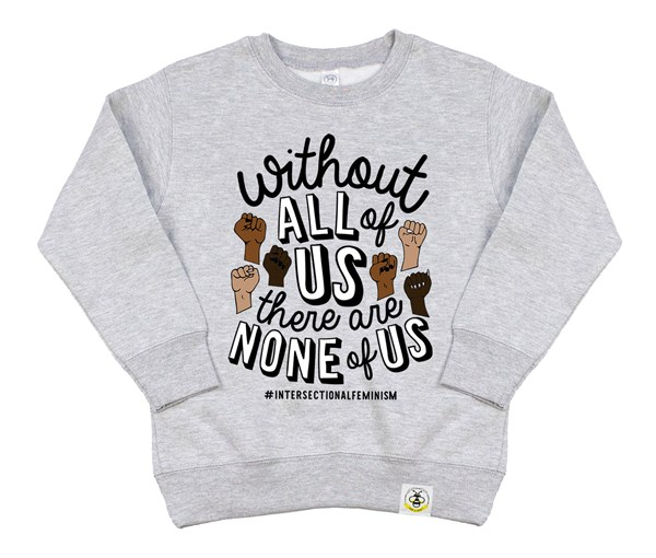All or None Kids Sweatshirt (Grey)
