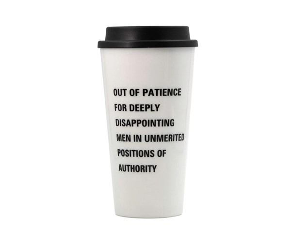 Out of Patience Travel Coffee Mug