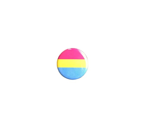Pansexual Pride Flag Pin-back Button