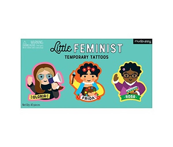 Little Feminist Temporary Tattoos