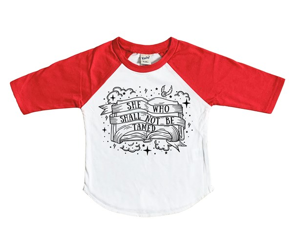 Not Tamed (Kids Raglan)