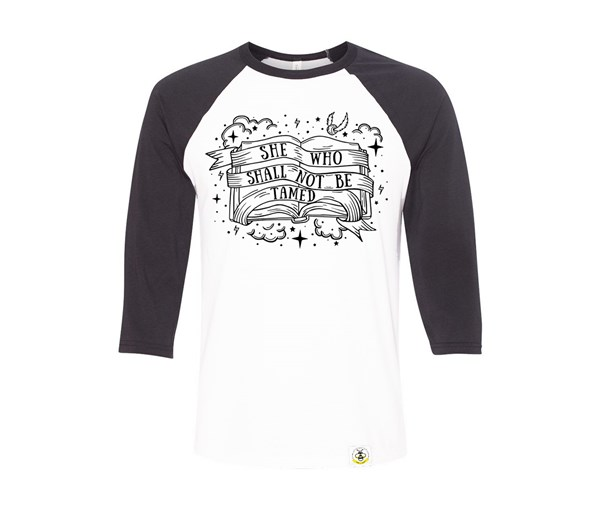 Not Tamed Adult Raglan