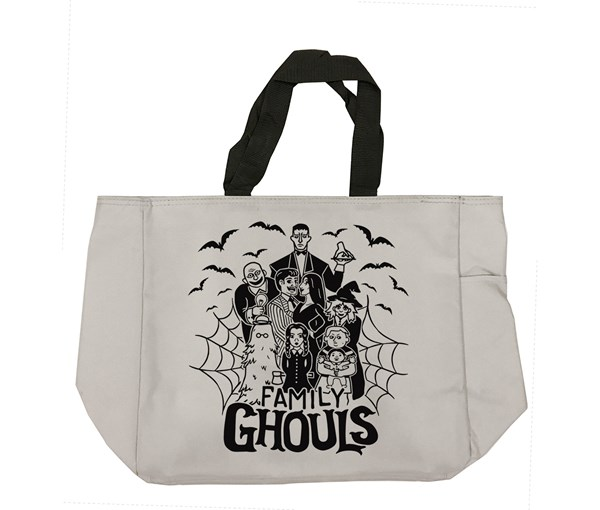 Family Ghouls Tote Bag (Grey)