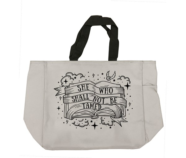 Not Tamed Tote Bag (Grey)