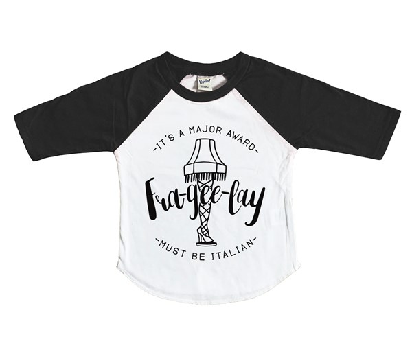 Frageelay Raglan (White/Black)
