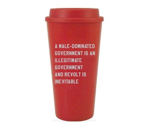 Illegitimate Government Travel Coffee Mug