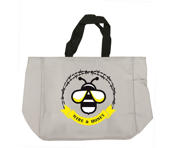 WH Logo Tote Bag (Grey)