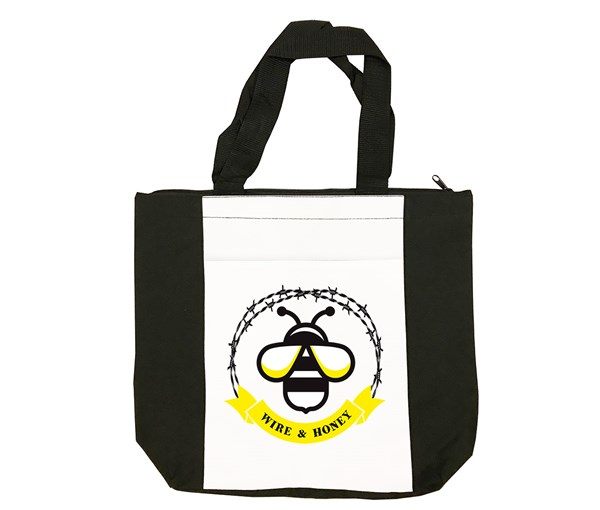 WH Logo Tote Bag (Black/White)