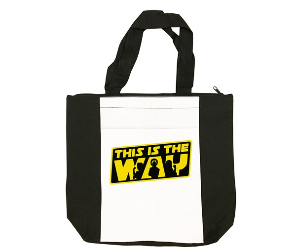 The Way Tote Bag (Black/White)
