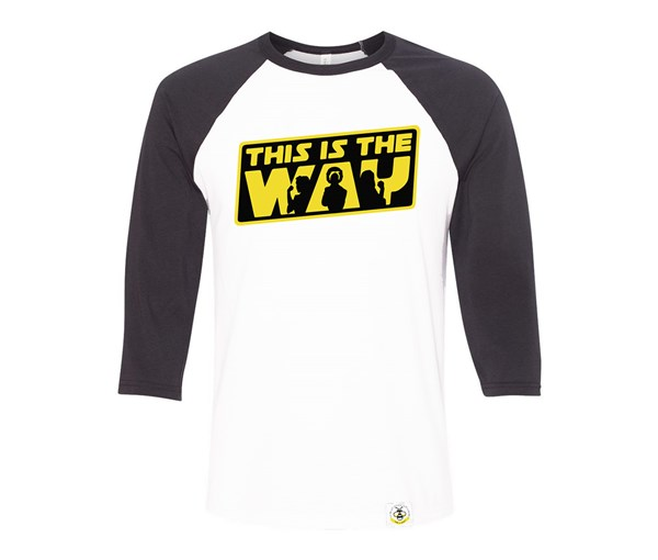 The Way Adult Raglan