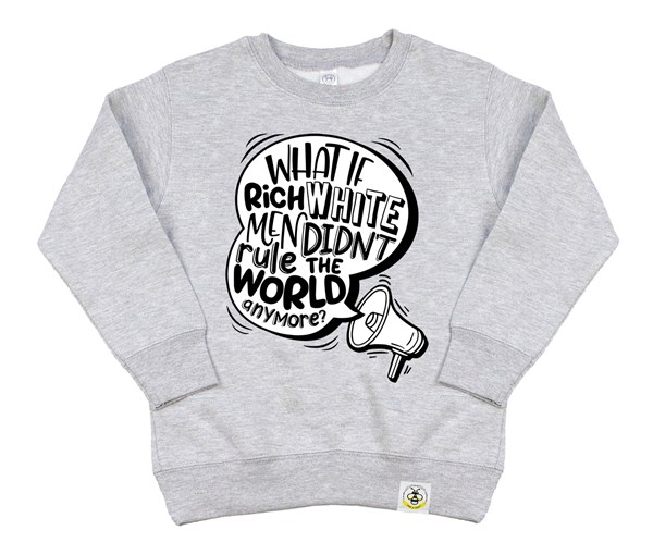 Rich White Men (Kids Sweatshirt)