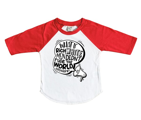 Rich White Men (Kids Raglan)