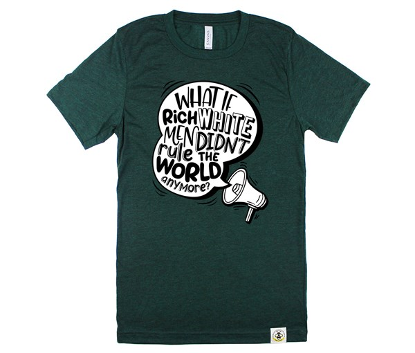 Rich White Men Adult Crew (Emerald)