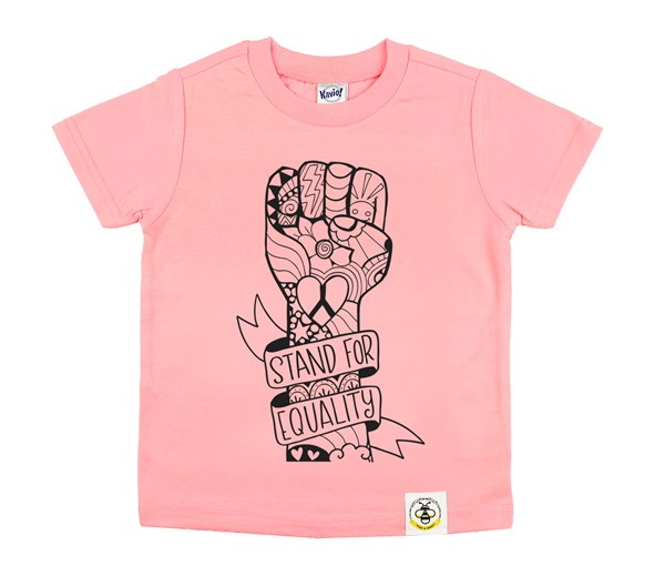 Equality Fist (Flamingo)