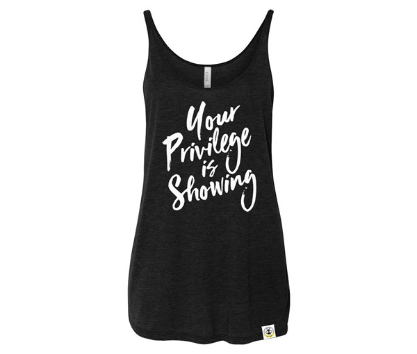 Privilege Adult Slouchy Tank