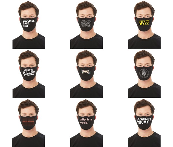 DESIGN ADD ON FOR MASKS--DESIGN ONLY