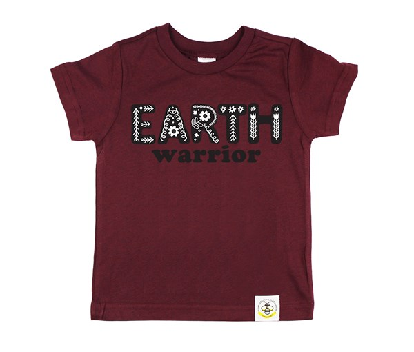 Earth Warrior Kids Crew (Wine)
