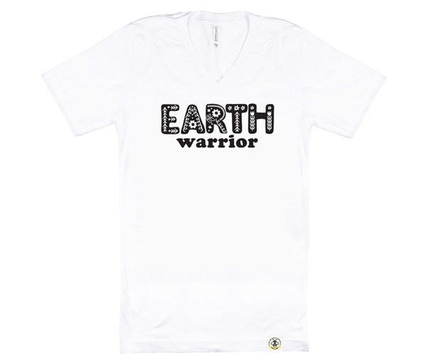 Earth Warrior (Adult V-Neck)