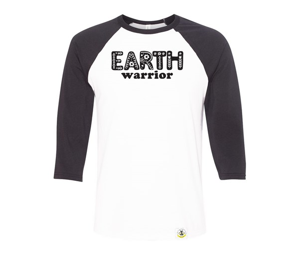 Earth Warrior Adult Raglan
