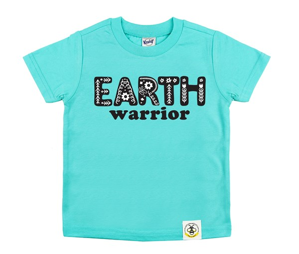 Earth Warrior Kids Crew (Caribbean Blue)
