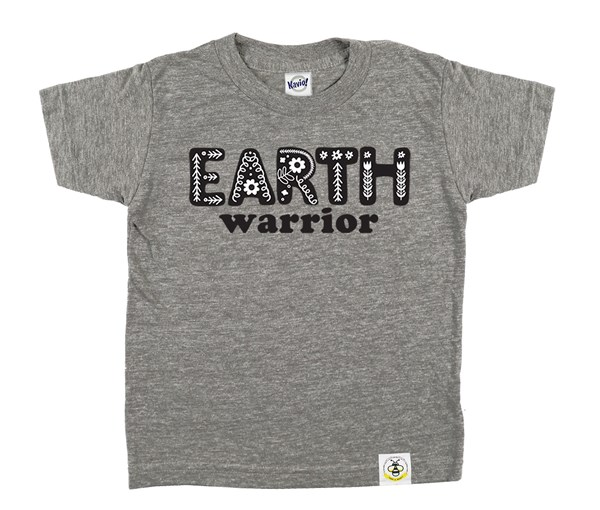 Earth Warrior Kids Crew (Grey)