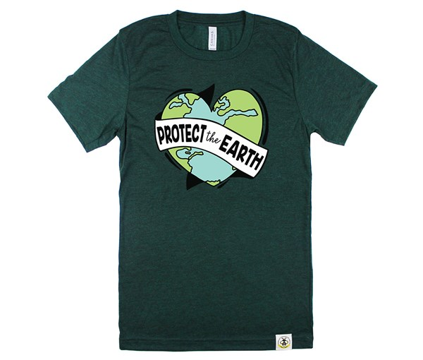 Protect the Earth Adult Crew (Emerald)