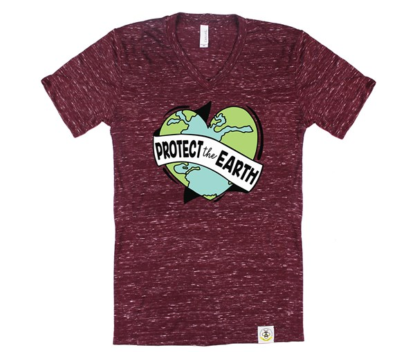 Protect the Earth (Adult V-Neck)
