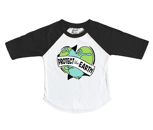 Protect the Earth (Kids Raglan)