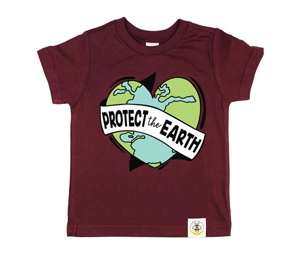 Protect the Earth Kids Crew (Wine)