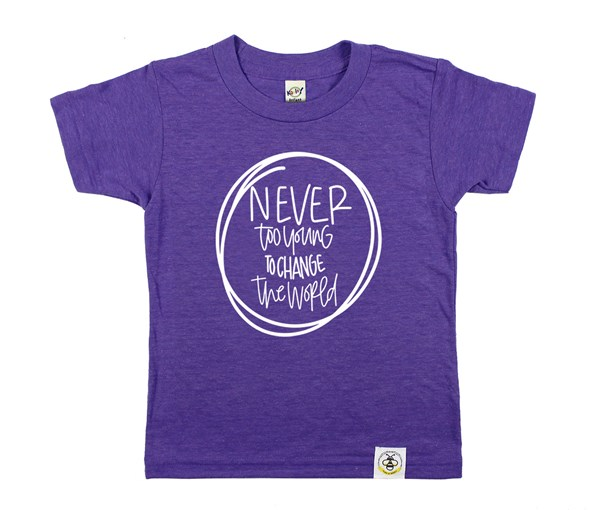 Never Too Young (Purple)
