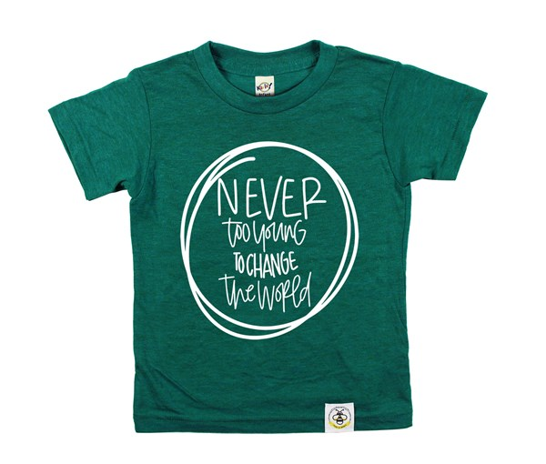 Never Too Young (Green)